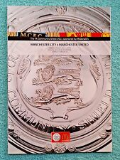 2011 - COMMUNITY SHIELD PROGRAMME - MANCHESTER CITY v MANCHESTER UTD