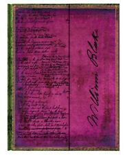 """Paperblanks Journal """"Blake: Poems"""" LINED Ultra 7x9"""" Book Writing New"""