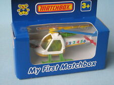 My First Matchbox Helicopter Thailand Base Boxed Toy Model Rescue