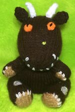 KNITTING PATTERN - The Gruffalo inspired chocolate orange cover / 15 cms toy