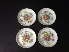 BEAUTIFUL VINTAGE  MINTON FINE BONE CHINA COASTER SET-MARLOW PATTERN