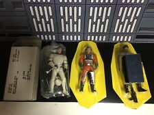 STAR WARS IMPERIAL SCANNER CREW & WEDGE ANTILLES & HAN SOLO EXCLUSIVE FIGURES