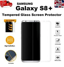 Full Edge to Edge Screen Protection Tempered Glass 9H For Samsung S8 PLUS CLEAR