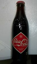 2012 8.5 OZ COCA COLA HOLIDAY BOTTLE.