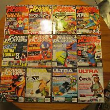 Game Players Ultra EGM GamePro Nintendo Power GameFan 12 issues 1996 MINT