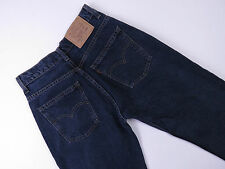C-125 LADIES VINTAGE 80s AUSSIE MADE LEVIS 677 BLK HIGH WAISTED SZ 8 - 68CM