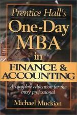 Prentice Hall's One-Day MBA in Finance & Accounting