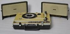 1960s Vintage National Portable Stereo Radiogram 3 Band Radio Phonograph SG-585
