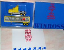"""1991 History of Ford Trucks #1 """"1905"""" Winross Diecast Delivery Trailer Truck"""