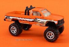 2008 Matchbox Loose Chevy K 1500 Pickup Orange 4X4 Off Road Combine Shipping