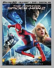 The Amazing Spider-Man 2 3D (Blu Ray 3D + Blu-ray + DVD Combo Set)