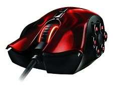 Razer Naga Hex MOBA/Action-RPG Gaming Mouse Red