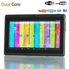 "Tablette android 4.4 Webcam Core-Dual 7"" pouce Pc portable Tactile Netbook SB wi"