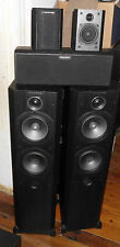 WHARFEDALE VARDUS VR-300 COMPONENT SPEAKERS WITH SANSUI SUB