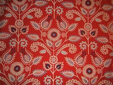 Waverly Shine On fabric by the yard contemporary novelty clr red white and blue