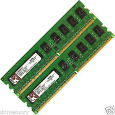 4GB(2x2GB) DDR2-800 PC2-6400 ECC Unbuffered Desktop PC Memory RAM  DIMM 240-pin