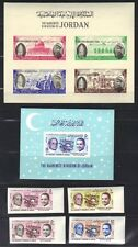 JORDAN 1964-65 POPE PAULUS VISIT TO THE HOLY LAND 2 S/S SG 567a & 655 IMPERF SET