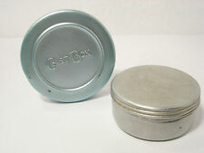 Vintage Circular Fly Fishing Cast Boxes x 2 Complete with Casts & Flies