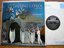 SXL 6204  RAVEL: DAPHNIS & CHLOE  ANSERMET / OSR   TAS LISTED  NB   NM