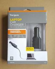 Targus Car Laptop Charger 90w for HP, Dell, Toshiba, Asus, Sony & more Laptop