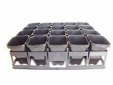 Plastic Plant Tube / Pot 68mm x 20pcs with Air Pruning Tray - Propagation