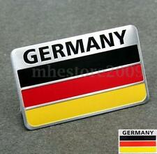 Car Truck 3D Aluminum German Germany Flag Emblem Badge Decals Sticker New