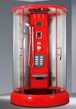 Duschabtrennung Duschtempel Glasdusche Dusche Fertigdusche LXW-1050 Weis