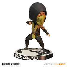 "MORTAL KOMBAT X - SCORPION BOBBLEHEAD HEADKNOCKER FIGURE - 6"" / 15cm"