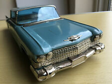 VINTAGE TINPLATE BANDAI CADILLAC FRICTION MODEL TOY CAR - JAPAN