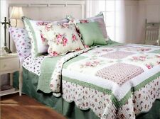 Textiles Plus 3-Piece Mini Quilt Set  Spring Patch  King NEW