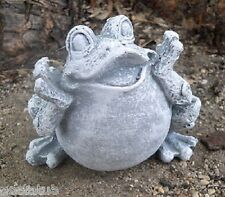 Latex only frog mold plaster concrete casting garden mold mould