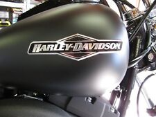 NEW HARLEY  SOFTAIL DYNA TANK EMBLEMS MEDALLIONS NAME PLATES MADE IN USA