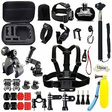43-in-1 GoPro Accessories Kit Sports Camera Hero Session 5 4 3 2 1 Head Strap