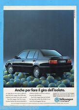QUATTROR993-PUBBLICITA'/ADVERTISING-1993- VOLKSWAGEN VENTO