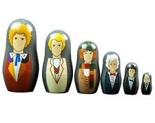 Doctor Who 1st-6th Doctor Nesting Doll Set