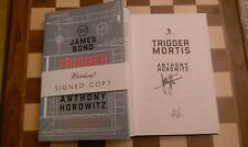 Trigger Mortis SIGNED Anthony Horowitz James Bond 007 UK 1st/1st Hardback Book