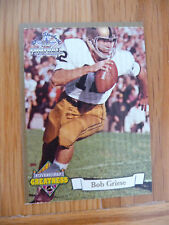 1994 TED WILLIAMS FOOTBALL PATH TO GREATNESS INSERT CARD BOB GRIESE #PG3
