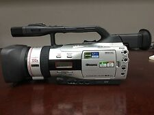 Lot of 2 GENUINE Canon DM-GL2A MiniDV Professional Camcorders with Accessories