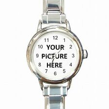 Women's Bracelet Watch Custom Personalized YOUR PICTURE PHOTO LOGO