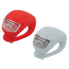 LED Clip-On Safety Torch Lights for Bike Helmet Dog Walk Running 2pk