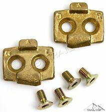 Genuine TIME ATAC Pedal Cleats fits ALIUM Z ALLROAD CYCLO MTB Clipless Pedals