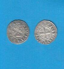 PHILIPPE IV Le Bel (1285-1314) Double Tournois billon Lot E PORT GRATUIT FRANCE