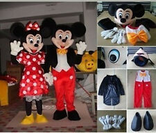 Mickey Mouse & Minnie Mouse Mascot Costume Fancy Dress lot of 2