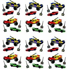 Mrs Grossman's Remote Control Cars Toy Scrapbook Stickers 3 Strips!