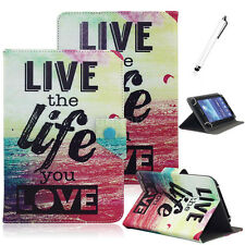 "Life The Life You Love Universal Case Cover For RCA Voyager II 7"" 7-inch Tablet"