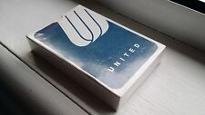 UNITED AIRLINE PLAYING CARDS BLUE LOGO BRAND NEW SEALED VINTAGE