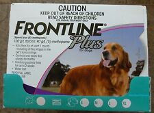 Frontline Plus for Large Dogs 45-88lbs 6 Months Supply Merial NIB Purple