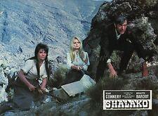BRIGITTE BARDOT SHALAKO 1968 VINTAGE LOBBY CARD #4