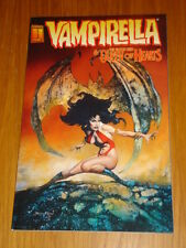 VAMPIRELLA AND THE BLOOD RED QUEEN OF HEARTS HARRIS COMICS SCARCE GRAPHIC NOVEL