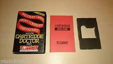 CARTRIDGE DOCTOR - CASE, INLAY,MANUAL - SINCLAIR QL 1985 - NO PROG INCLUDED
